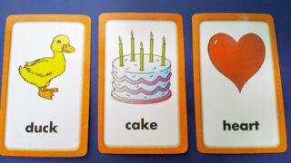 英語ゲームカード