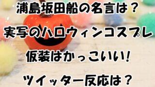 浦島坂田船の名言